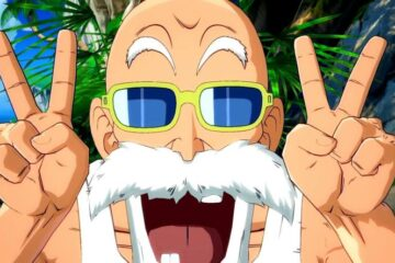 Muten Roshi en Dragon Ball FighterZ