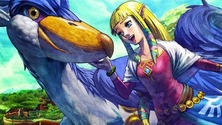 Zelda: Skyward Sword para Nintendo Switch