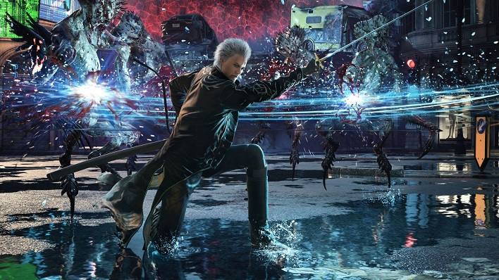 Tráiler de Devil May Cry 5: Special Edition con Vergil