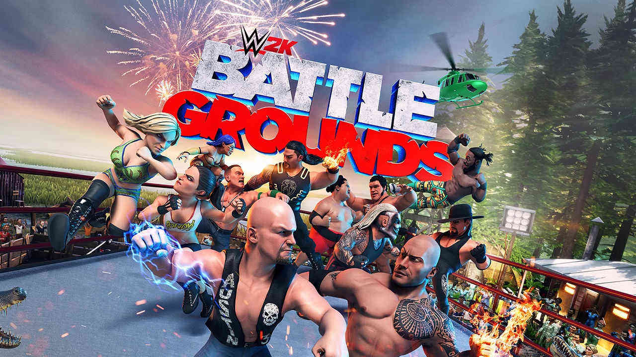 análisis de WWE 2K Battlegrounds