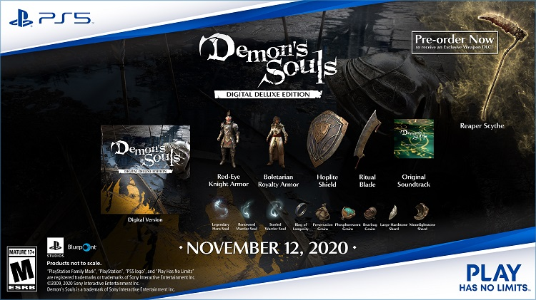 Demon's Souls Digital Deluxe Edition