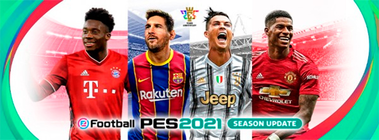 Data Pack 2.0 de eFootball PES 2021