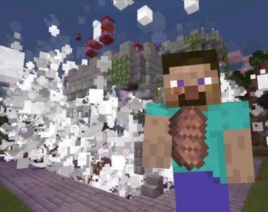 impresiones de Steve en Super Smash Bros. Ultimate