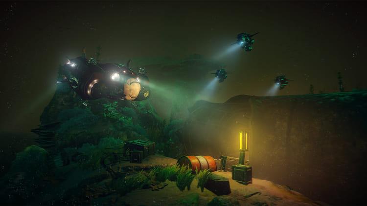Análisis de Aquanox Deep Descent