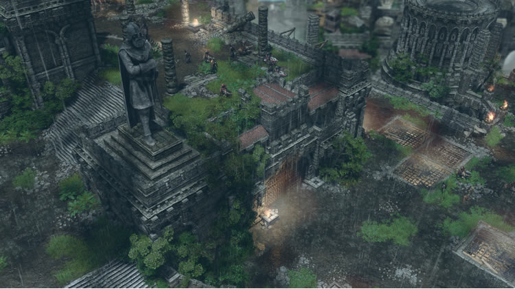 analisis de spellforce iii fallen god exteriores