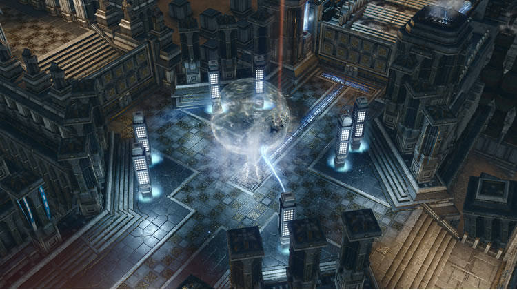 analisis de spellforce iii fallen god templo