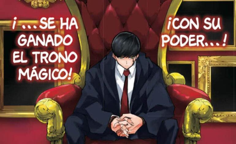 Manga Mashle 40 disponible en castellano, Mash y la llama de la vela