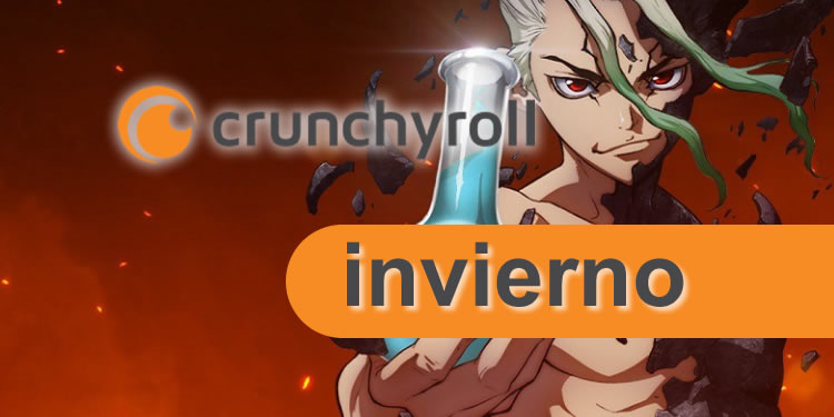 estrenos de crunchyroll de la temporada de invierno 2021