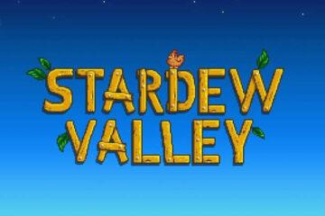 granja en la playa en stardew valley logo