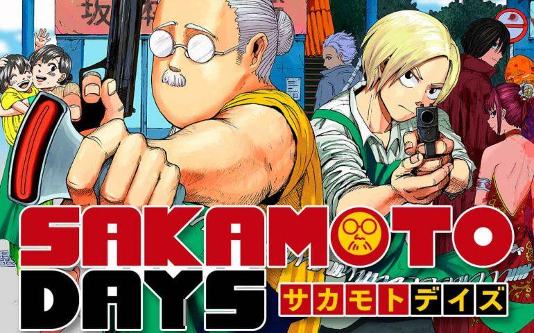 Primeros capítulos del manga Sakamoto Days en castellano