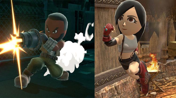 impresiones de Sefirot en Super Smash Bros. Ultimate