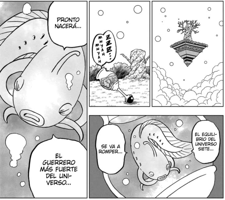 Dragon Ball Super pez oráculo