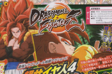 Scans de Gogeta Super Saiyan 4 en Dragon Ball FighterZ