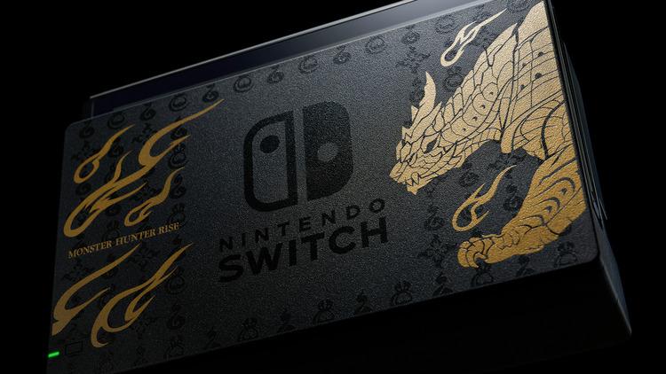 Nintendo Switch de Monster Hunter Rise