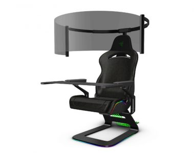CES 2021: RAZER presenta Project Brooklyn, la silla gaming inmersiva