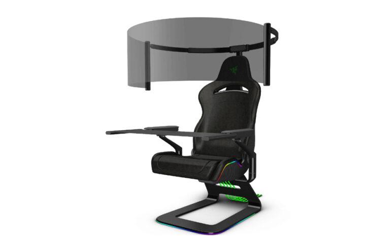 CES 2021: RAZER presenta Project Brooklyn, la silla gaming inmersiva