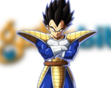anime color Vegeta