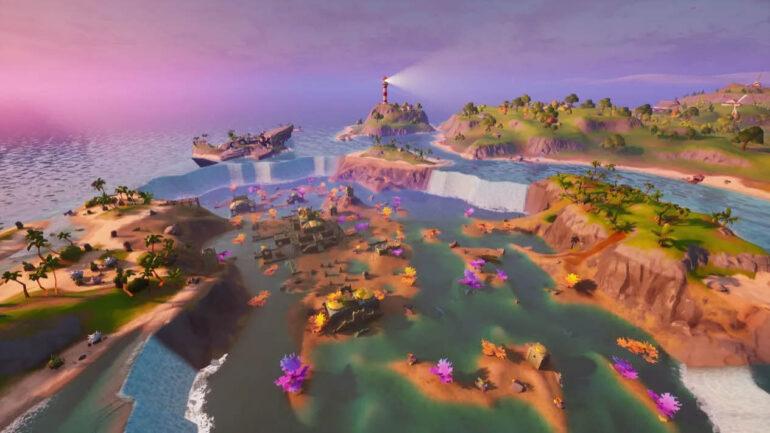 Guía y localización de Colegas de Coral en Fortnite Temporada 5