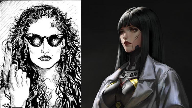 personajes de Cyberpunk 2077