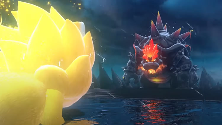 trailer de super mario 3d world + bowser's fury