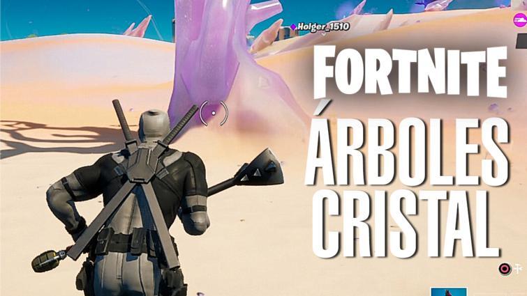 Árboles Cristal Fortnite