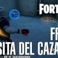 Fortnite lanzar fruta Casita del Cazador