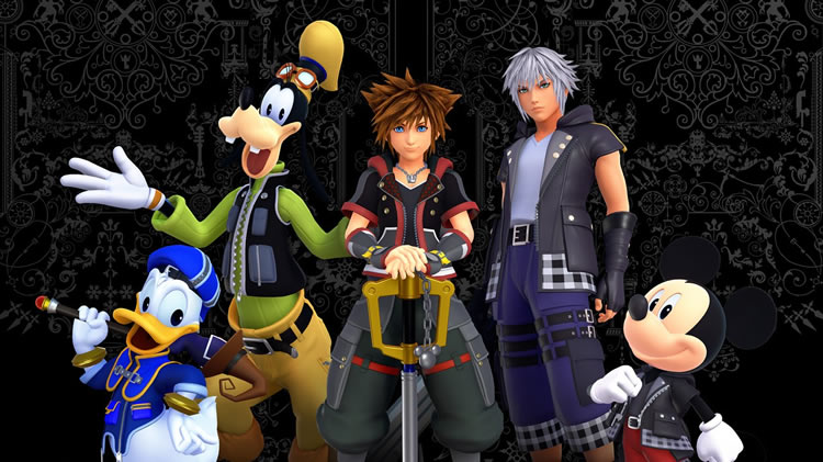 kingdom hearts llega a epic games store