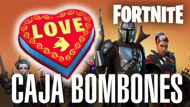 Reúne cajas de bombones en Fortnite Capítulo 2 Temporada 5