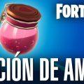 Recoge la poción de amor de Bonachón en Fortnite