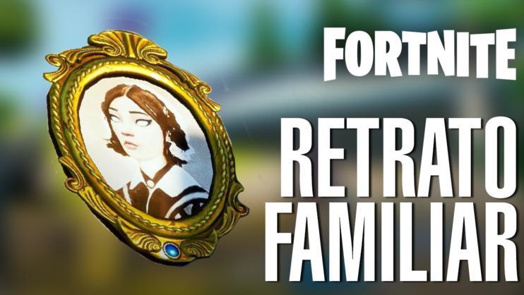 Guía Fortnite: Localización retrato de familia en un naufragio