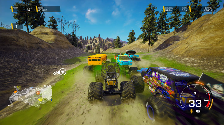 Análisis de Monster Jam Steel Titans 2 para PC