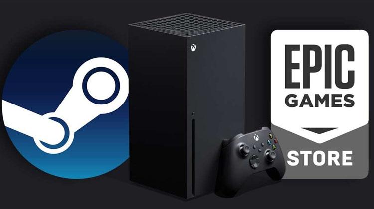 juegos de Steam en Xbox Series