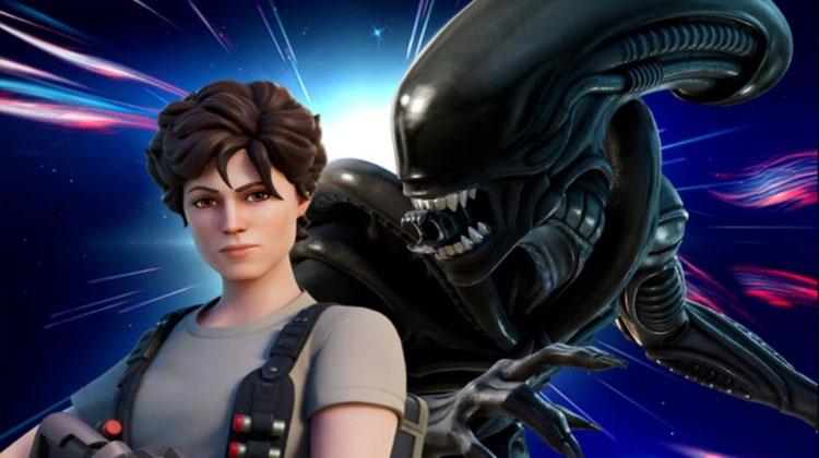 Alien en Fortnite
