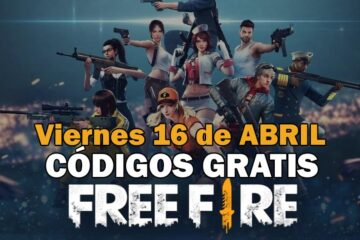 Códigos gratis Free Fire disponibles 16 de abril de 2021