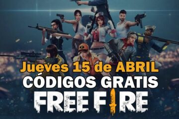 Códigos gratis Free Fire disponibles 15 de abril de 2021