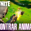 Encontrar animales Fortnite Temporada 6