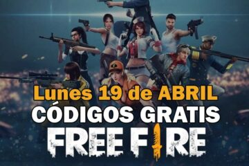 Códigos gratis Free Fire disponibles 19 de abril de 2021
