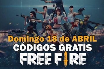 Códigos gratis Free Fire disponibles 18 de abril de 2021