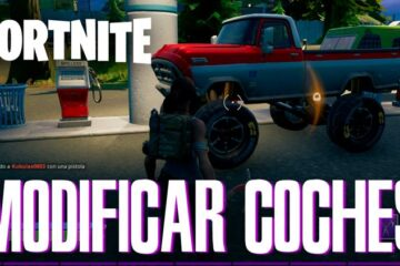 modificar vehículos Fortnite